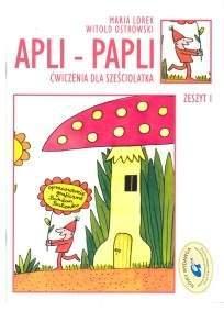 Apli-papli: ćwiczenia dla sześciolatka (1)