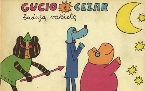 Gucio i Cezar budują rakietę