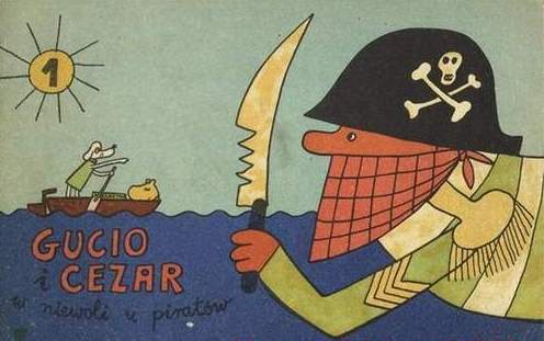 Gucio i Cezar w niewoli u piratów